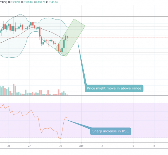 Mudrex Price Analysis #40 Bitcoin (BTC/USD) – 30th March 2020