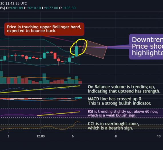 Mudrex Price Analysis #111 Bitcoin (BTC/USD) – 6th July 2020