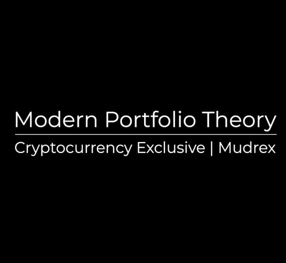 Modern Portfolio Theory for Cryptocurrency