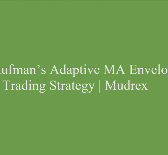 Kaufman's Adaptive MA Envelope Trading Strategy