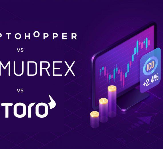 Cryptohopper vs Mudrex vs eToro — Detailed Review