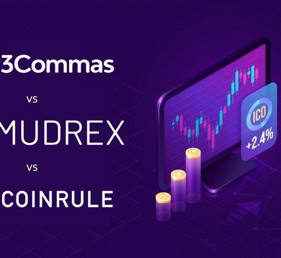 3Commas vs Mudrex vs Coinrule — Detailed Review
