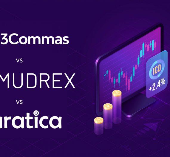 3Commas vs Mudrex vs Paratica — Detailed Review